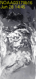 Latest NOAA image